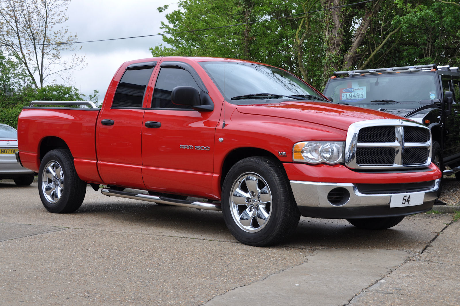 Dodge Ram Red Quad 2003