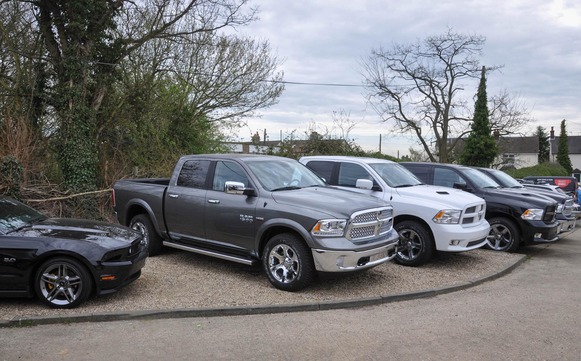 Dodge Rams at Boatwright 2013